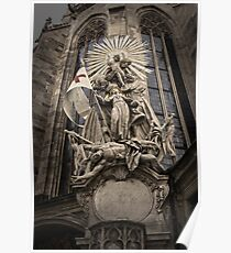Vienna Austria, St.Stephens Cathedral Poster