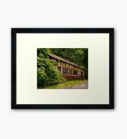 Port Ben Railway Depot Framed Print