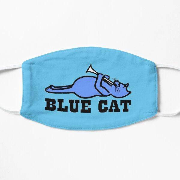Blue Cat vintage Flat Mask