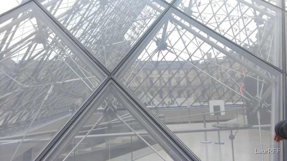 Louvre Pyramid Paris  by LaurRFF