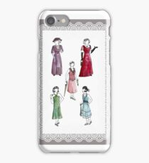 Downton Inspired Fashion iPhone Case/Skin