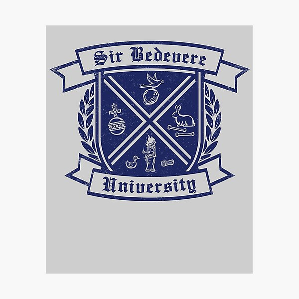 SIr Bedevere University Photographic Print