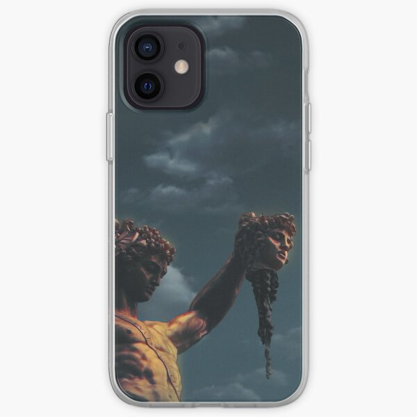 Perseus with the Head of Medusa iPhone Soft Case