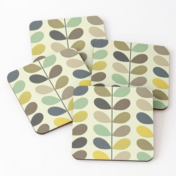 orla kiely design Coasters (Set of 4)