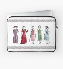 Downton Inspired Fashion Laptop Sleeve