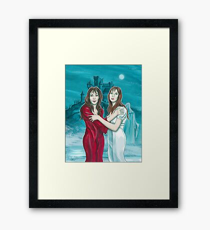 The Vampire Lovers Framed Print