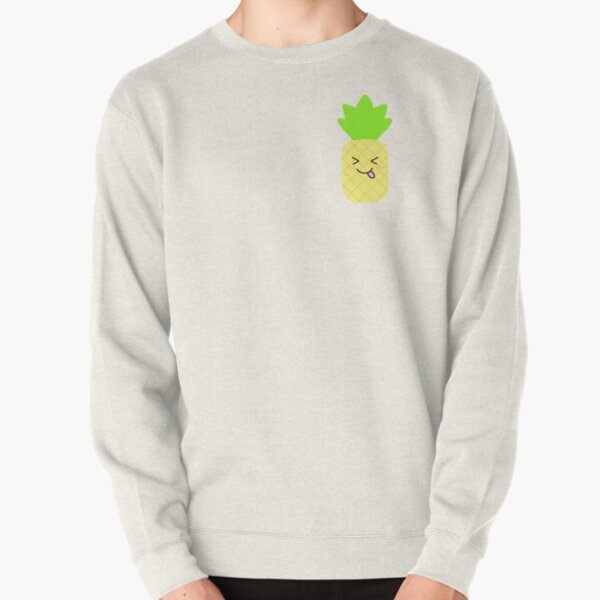 A Silly Pineapple Pullover Sweatshirt