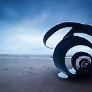 Mary's Shell - Cleveleys Beach panoramic by David Jones