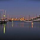 Melbourne city by SylvestreLeChat