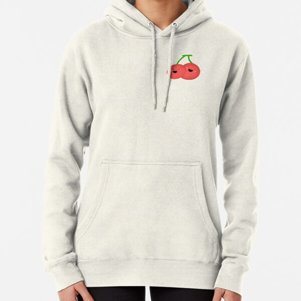 Adorable Cherry Twins Pullover Hoodie