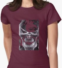 Alien Skull X-ray Women's Fitted T-Shirt
