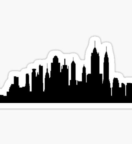 NYC skyline Sticker