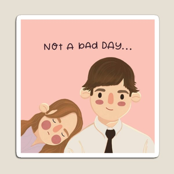 Jim and Pam Magnet