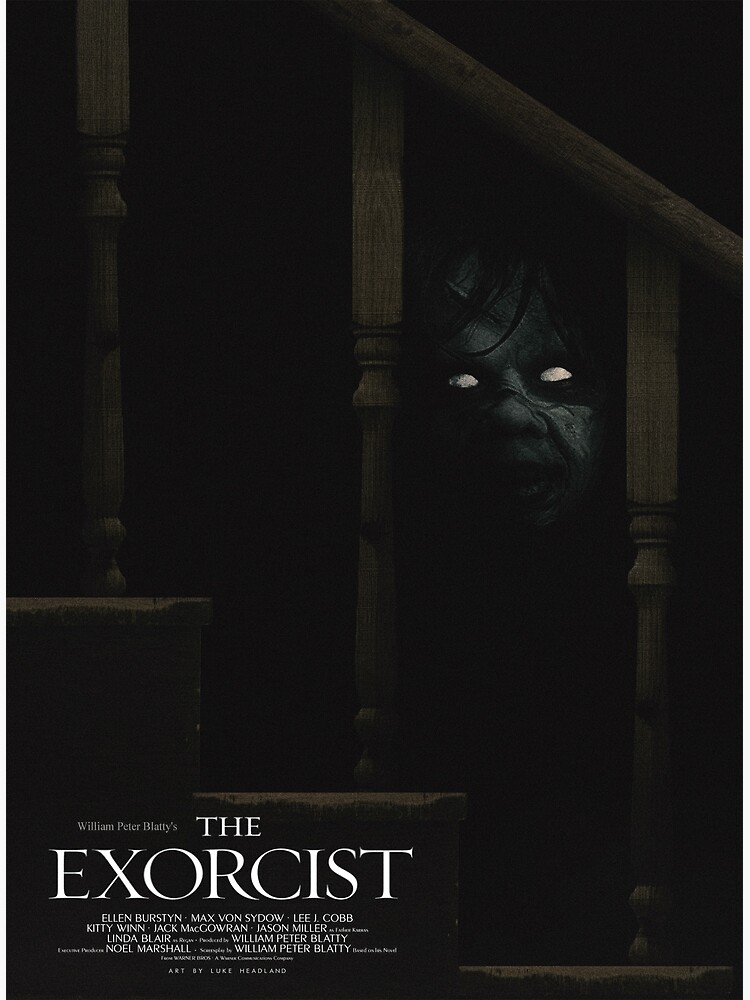 The Exorcist Poster by Lukeh01