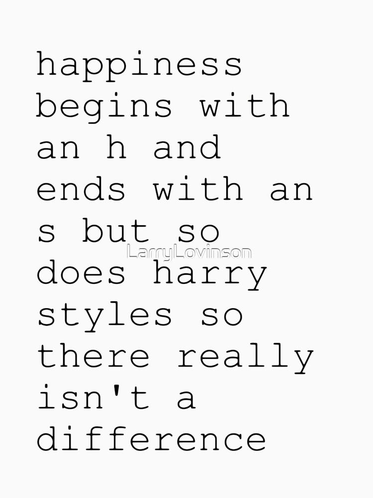 harry styles aka happiness | Unisex T-Shirt
