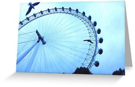The London Eye by awayonvacay