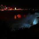 NightTime Niagara Falls by Adam Kuehl