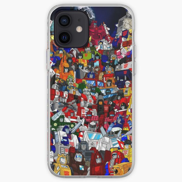 G1 Transformers Autobots iPhone Soft Case