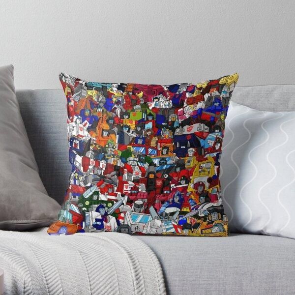 G1 Transformers Autobots Throw Pillow