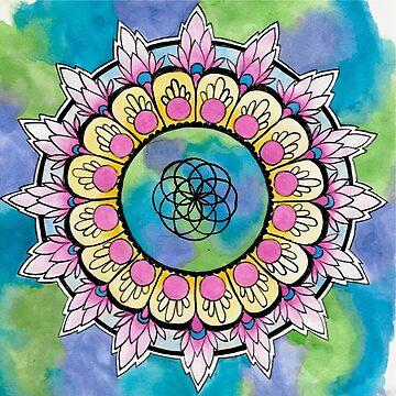 Lotus Mandala by RubyBlue27
