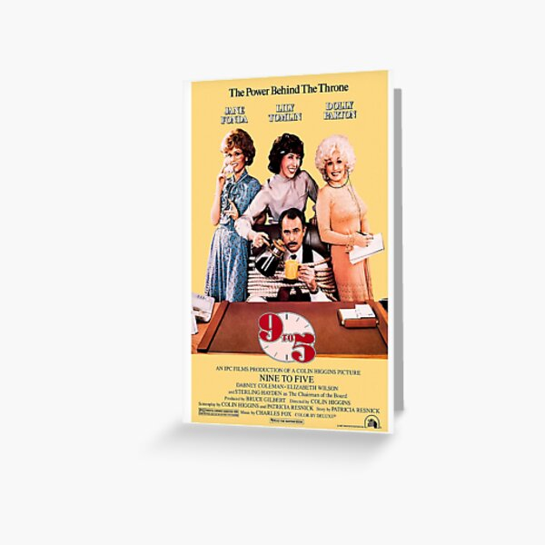 9 to 5 (1980) Greeting Card