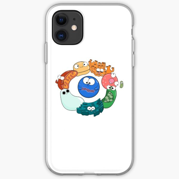 Cell Organelle Friendship Circle iPhone Soft Case