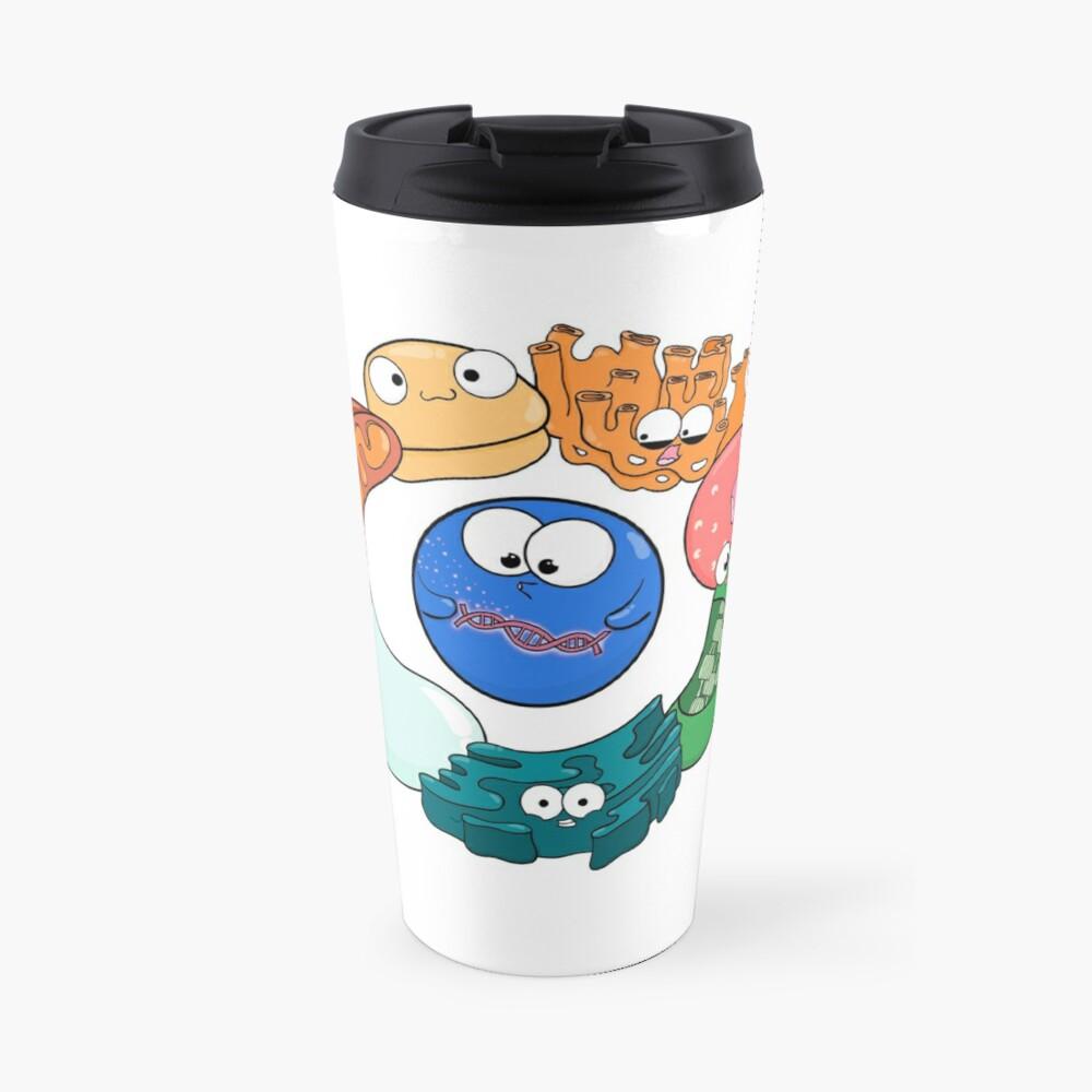 Cell Organelle Friendship Circle Travel Mug
