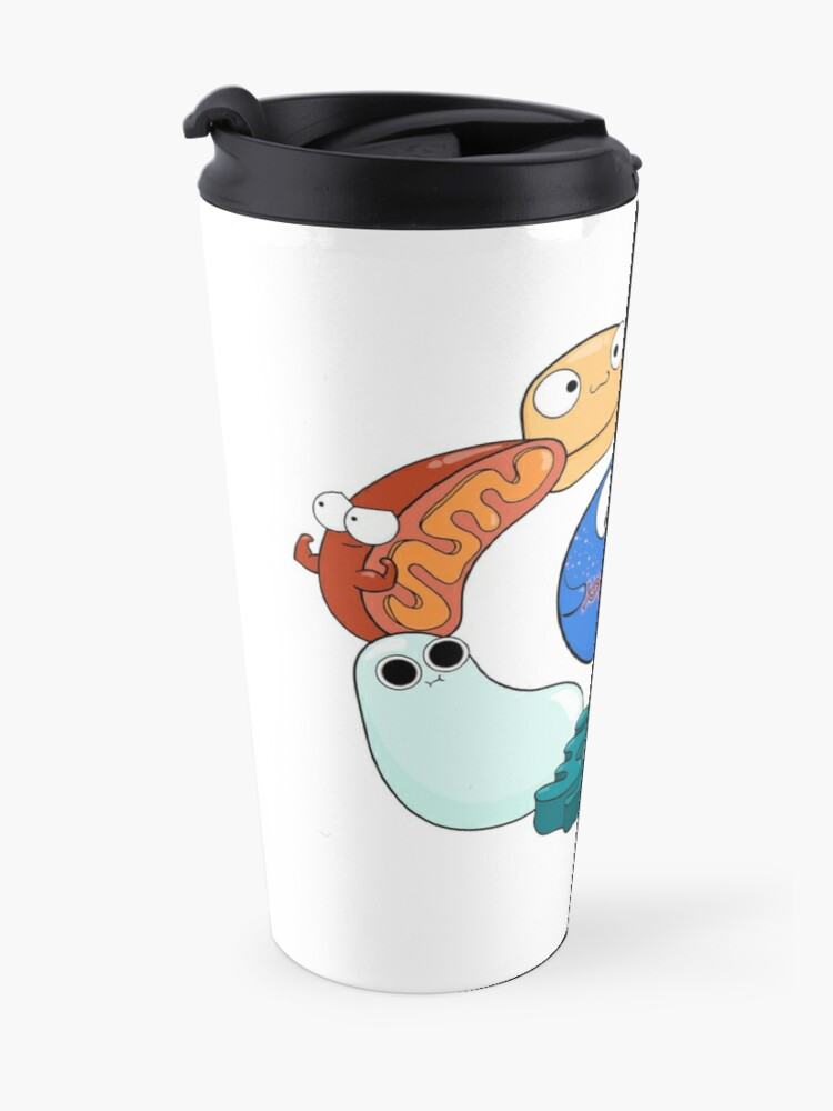 Alternate view of Cell Organelle Friendship Circle Travel Mug