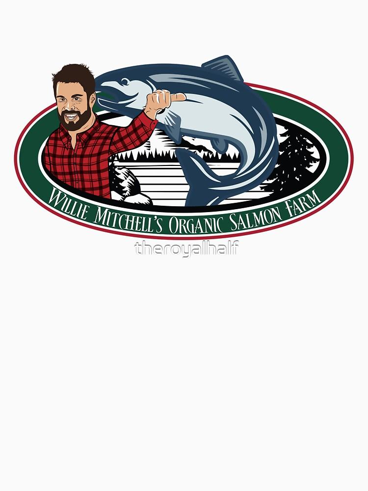 Stellen Sie sicher, dass es sich um einen in Vancouver geborenen und gezüchteten frischen Bio-Lachs handelt! von theroyalhalf