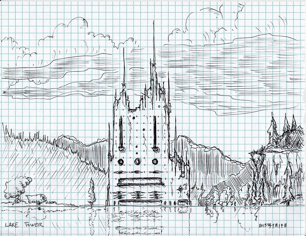 Lake Tower by Avi Morgan