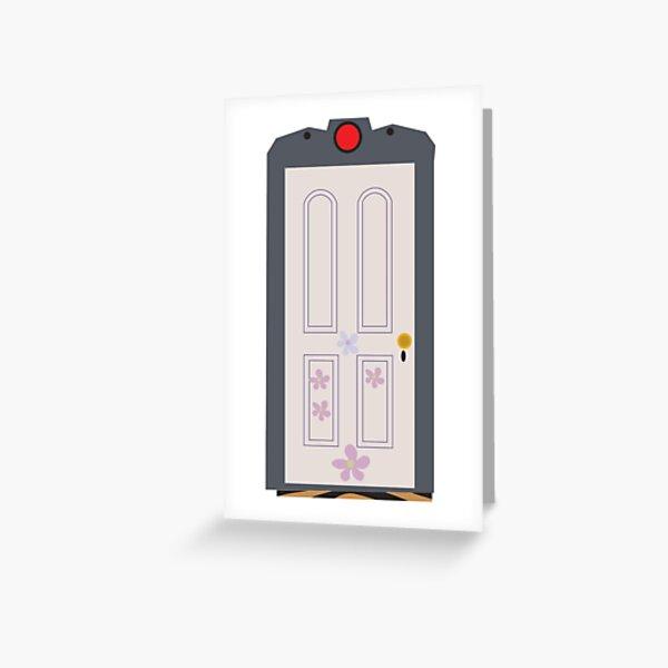 Boo's Door Greeting Card