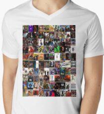 hip hop albums Men's V-Neck T-Shirt