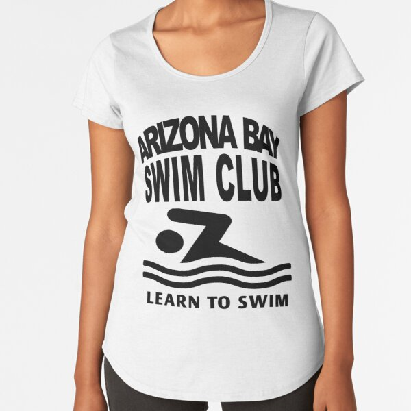 Aprende a nadar Arizona Bay Swim Club V.2 Camiseta premium de cuello ancho