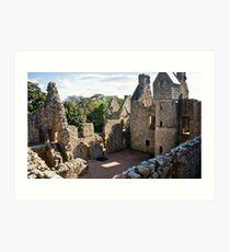 ancient ruins Art Print