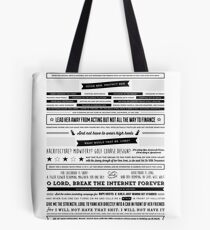 A Mother's Prayer for Her Daughter by Tina Fey Tote Bag