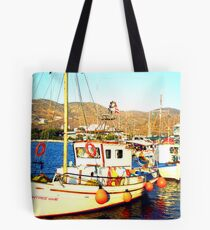 Amorgos Island Tote Bag