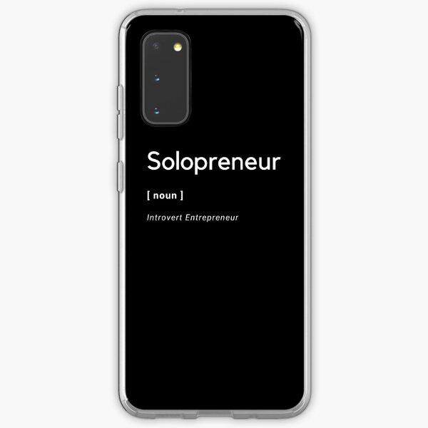Solopreneur Noun Samsung Galaxy Soft Case