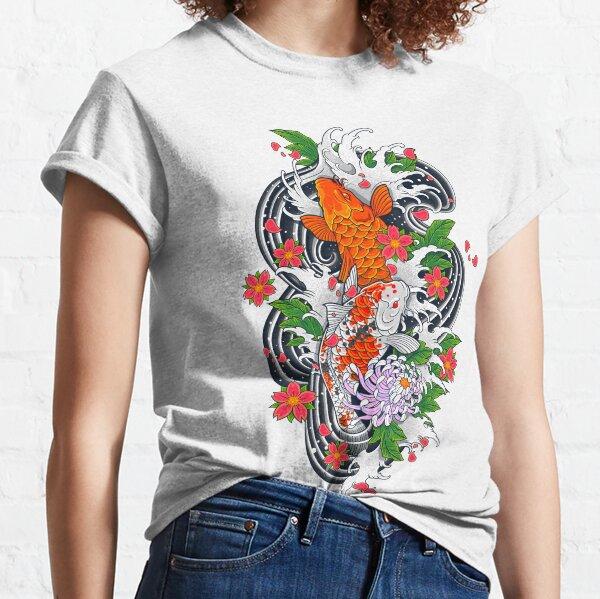 Koi Fish Pond  Classic T-Shirt
