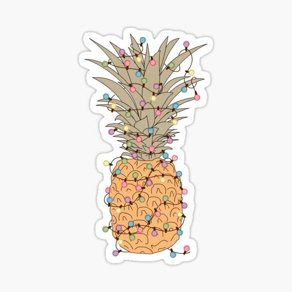 Tropical Lights Sticker