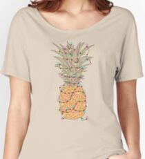 Tropical Lights Women's Relaxed Fit T-Shirt