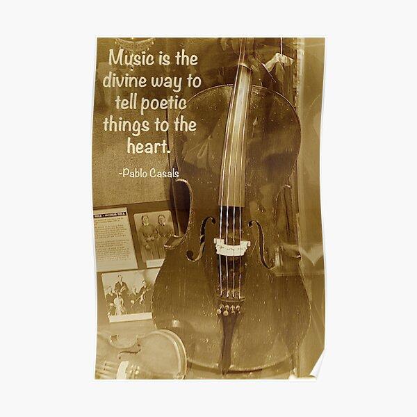 Vintage Cello Poster