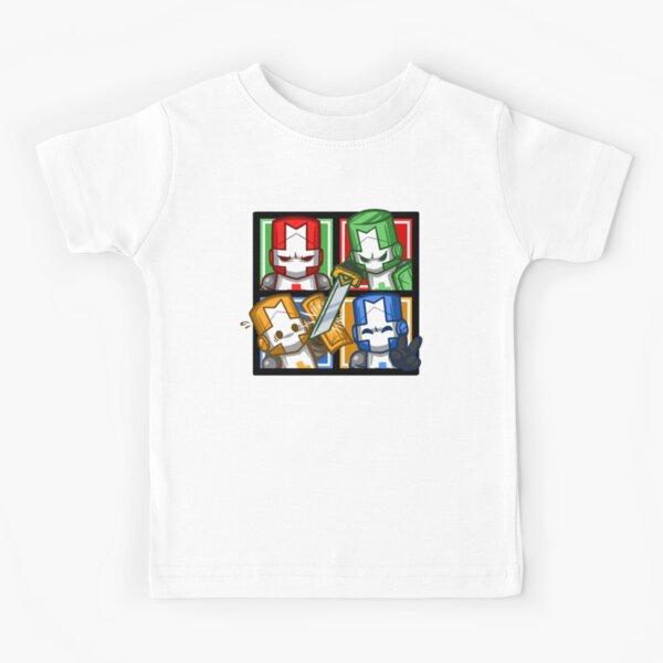 Castle Crashers Four-Square Kids T-Shirt