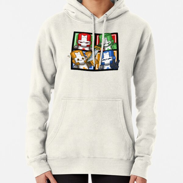 Castle Crashers Four-Square Pullover Hoodie