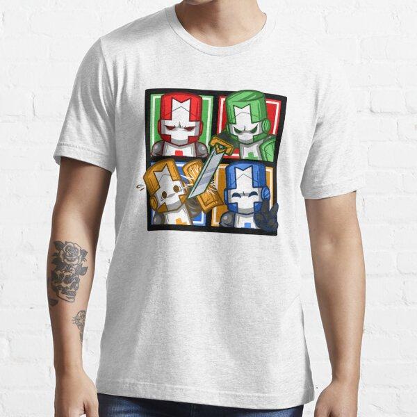 Castle Crashers Four-Square Essential T-Shirt