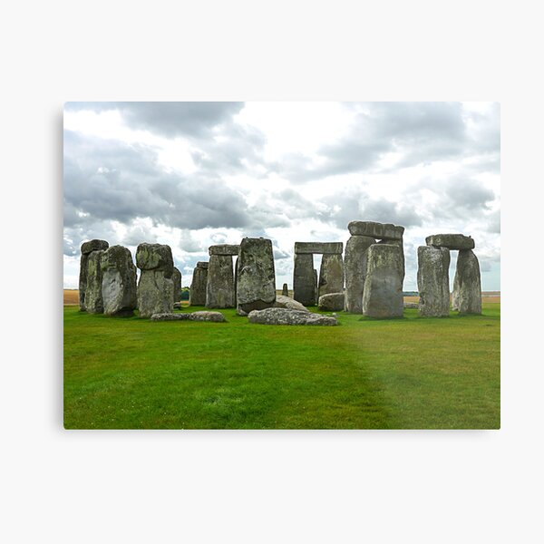 Stonehenge UK Metal Print