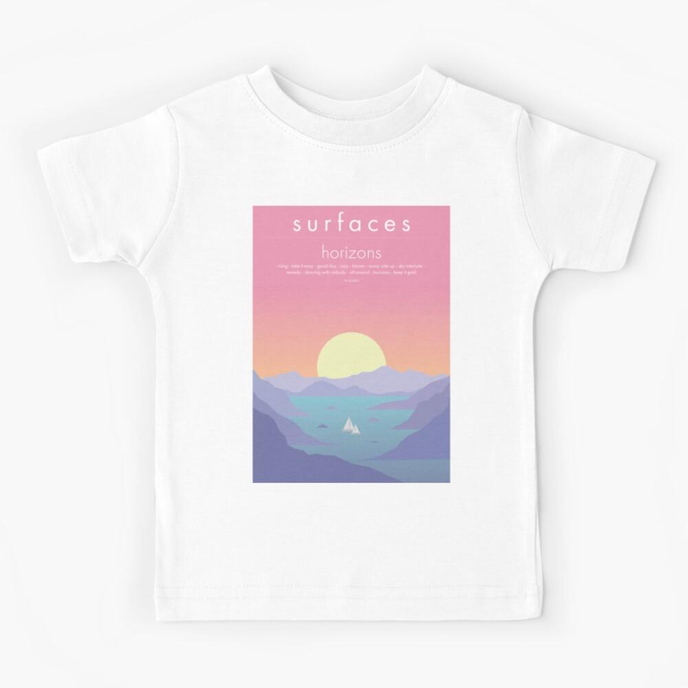 Surfaces Horizons Album Cover Kids T-Shirt