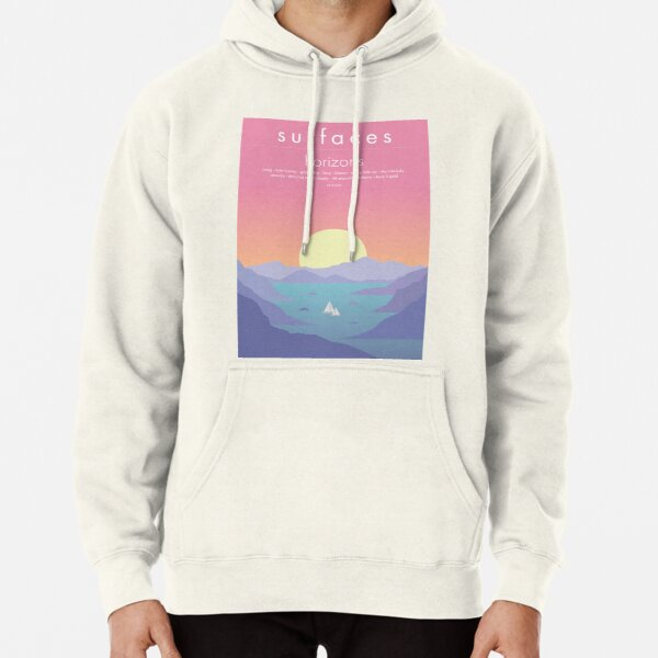 Surfaces Horizons Album Cover Pullover Hoodie