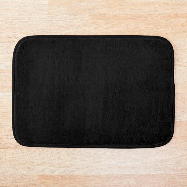 Simply Black - Simple Black Design Bath Mat