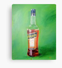 Aperol portrait Canvas Print
