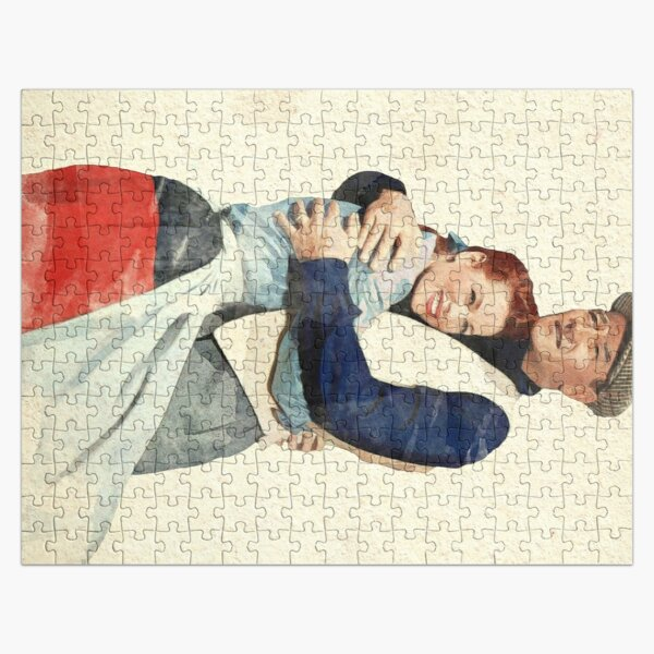 The Quiet Man - Watercolor Jigsaw Puzzle